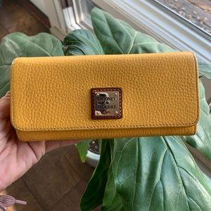 Dooney & Bourke Mustard Wallet